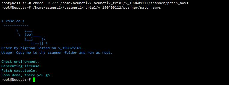 awvs最新Linux版v_12.0.190409112破解版